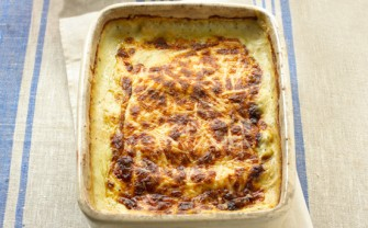 Mary Berry's mushroom and spinach cannelloni