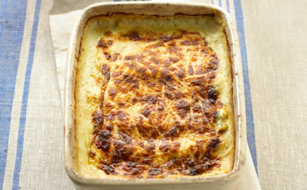 4. Mary Berry's mushroom and spinach cannelloni