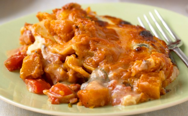 Mary Berry's butternut squash lasagne