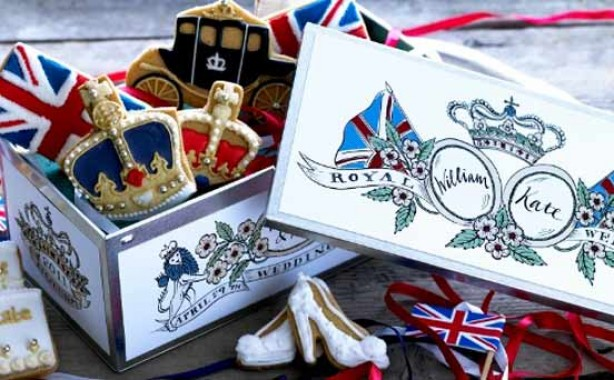 Royal Wedding biscuits