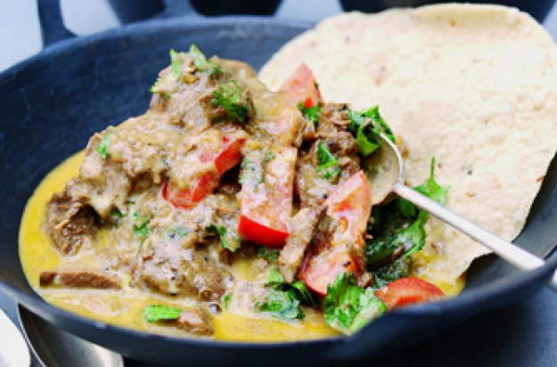 Indian lamb korma