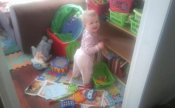 Kids up to mischief: Amelia