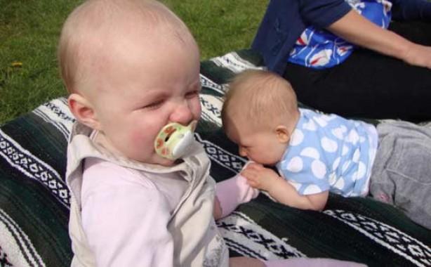 Kids up to mischief: Flossie