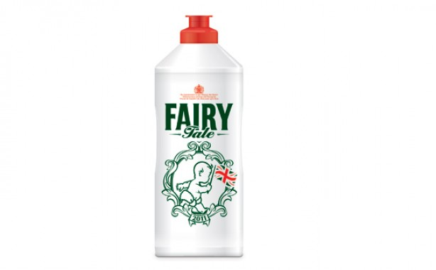 Royal Wedding Fairy Liquid
