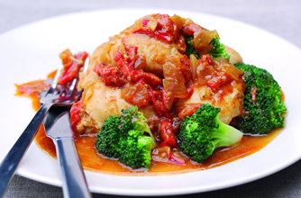 Sweet chicken with smoked paprika recipe - goodtoknow