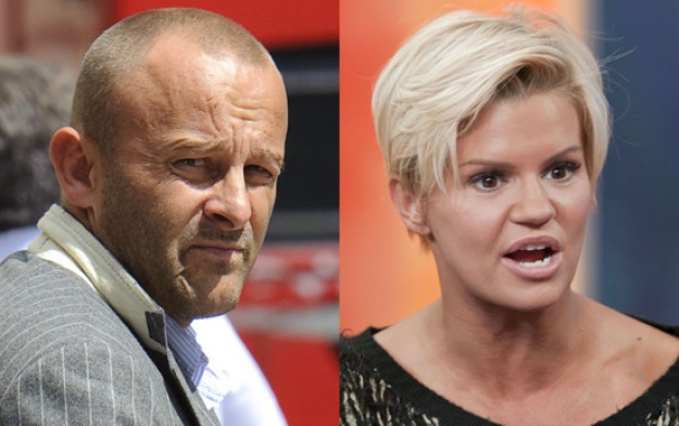 Mark Croft & Kerry Katona