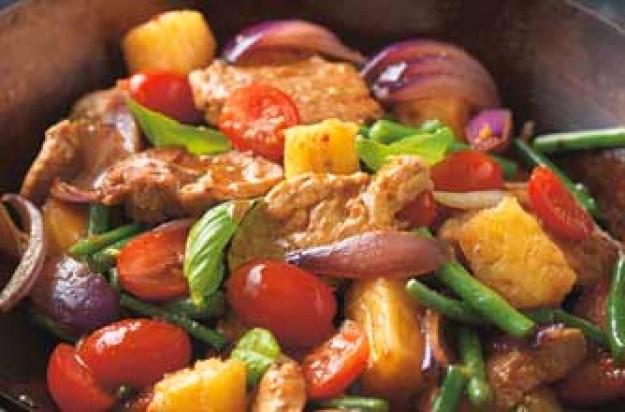 Stir-fry pork
