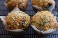 Spinach and parmigiano-reggiano muffins