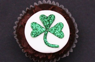 Victoria Threader's St Patrick's Day cupcakes