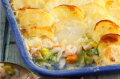 Luxury fish pie