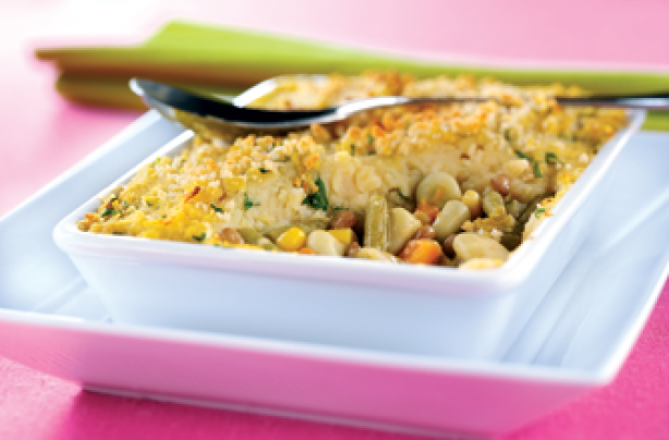 Vegetable beany bake