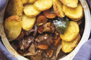 This one pot slow cooked venison is tasty and succulent. The meat is very tender with flavours from thyme and bay leaf. A great meal for the whole family. Frozen vegetables and ptatoes are used so this saves time.
