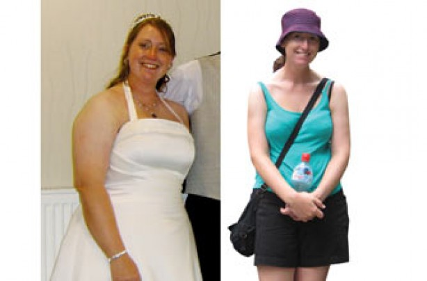 Before and after: Jennifer Seymour