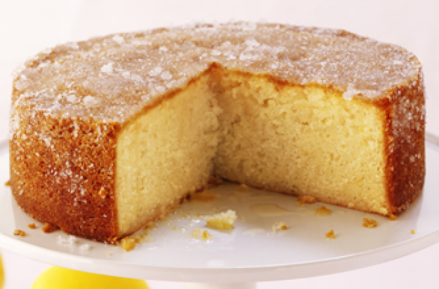 Honey Lemon Drizzle Cake