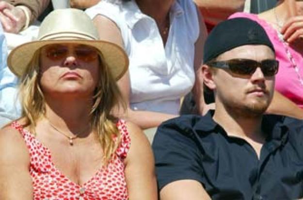 Leo DiCaprio and mum