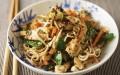 Lemon chicken stir-fry with noodles
