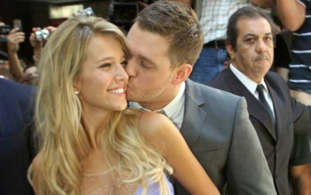 Michael Buble get married