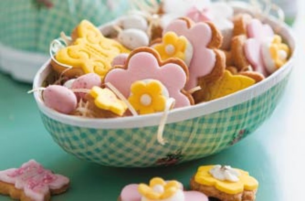 Spring meadow biscuits