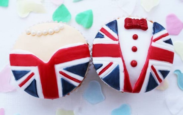 Royal Wedding bride and groom cupcakes recipe