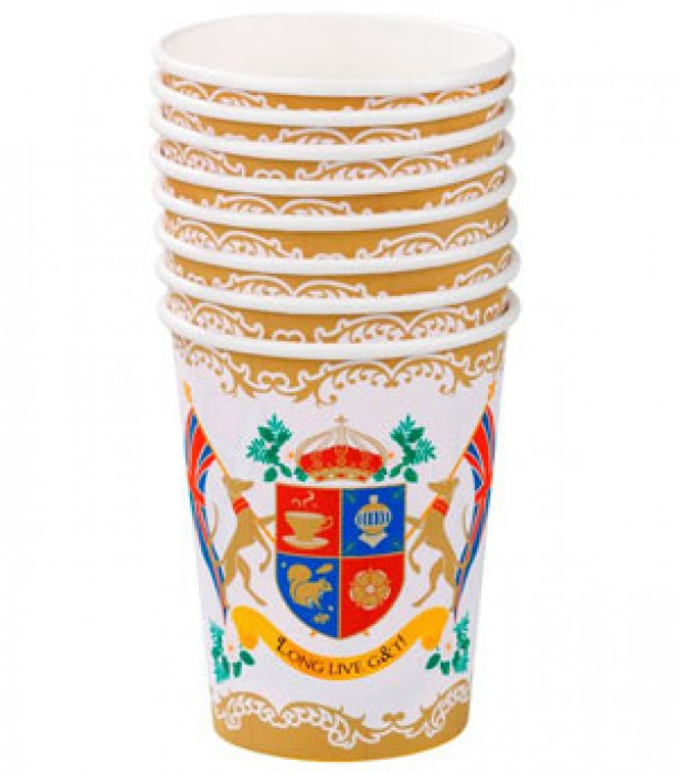 Royal Wedding cups