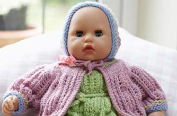 Free Knitting Patterns For 10 Inch Dolls Clothes : Free knitting patterns - Knitting pattern: Fathers Day card - goodtoknow