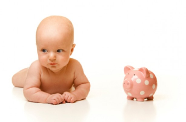 Save money on new baby items