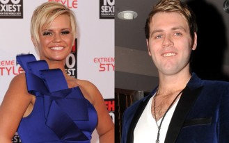 Kerry Katona and Brian McFadden