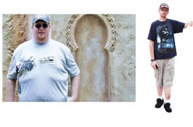 Before and after: Paul Cook