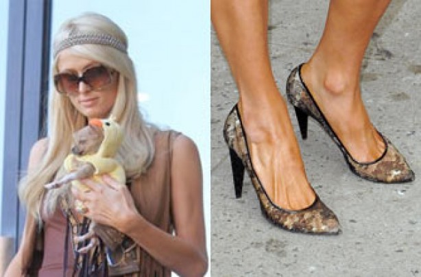 Paris Hilton's feet
