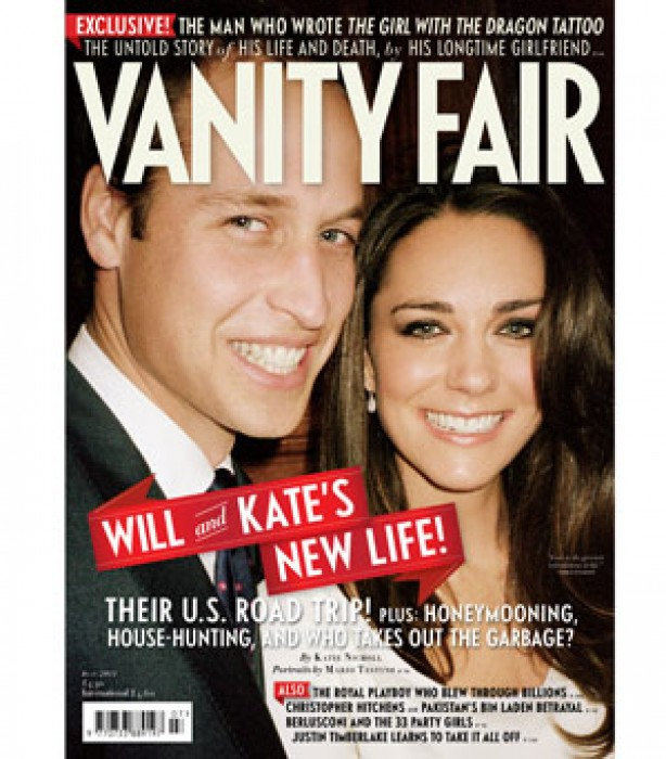 Kate and Wills: Vanity Fair cover