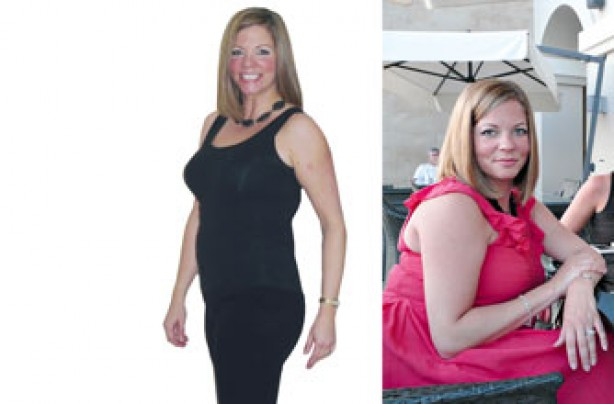 Before and after: Heidi Maguire