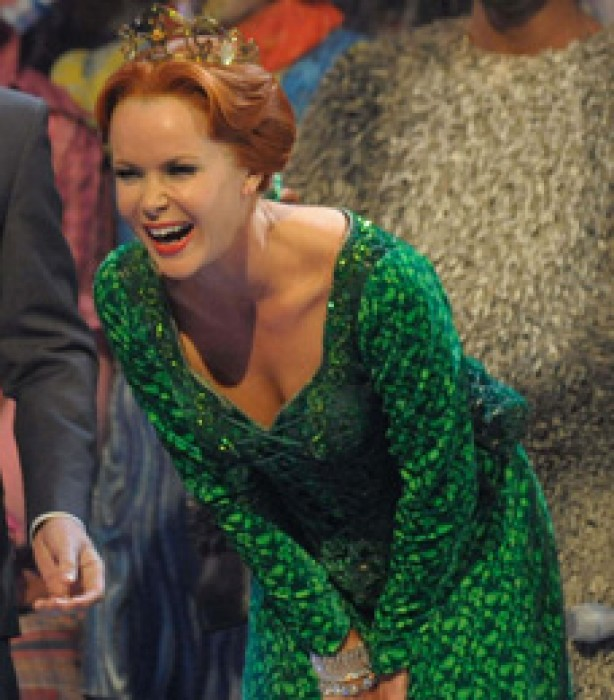 as Princess Fiona in Shrek