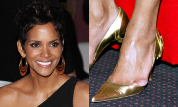 Halle Berry's feet