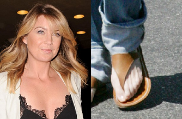 Ellen Pompeo's six toes