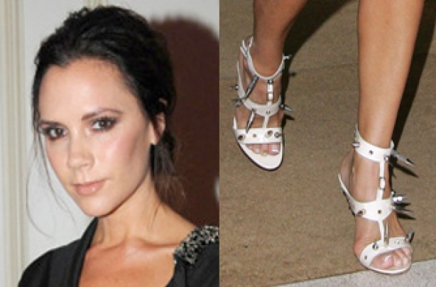 Victoria Beckham's feet