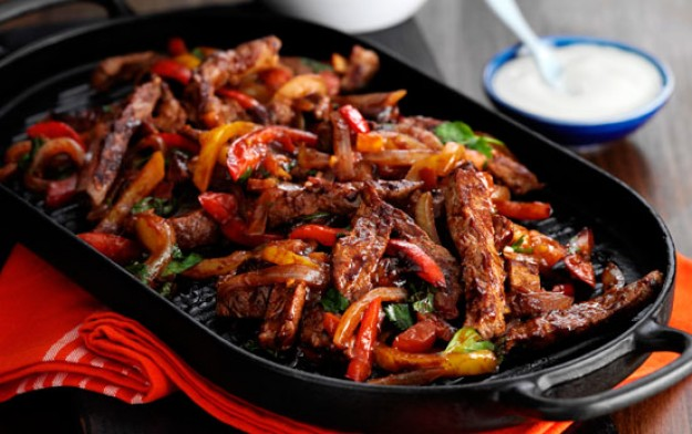 Beef fajitas recipe - goodtoknow