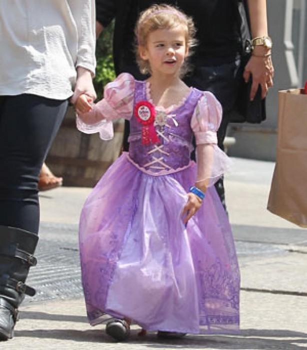 Celeb kids in fancy dress: Honor Alba