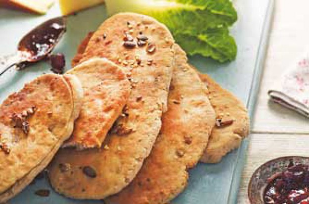 Woman's Weekly Speedy seeded flat breads