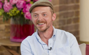 simon pegg - celebrity godparents - family pictures - gallery - family ...