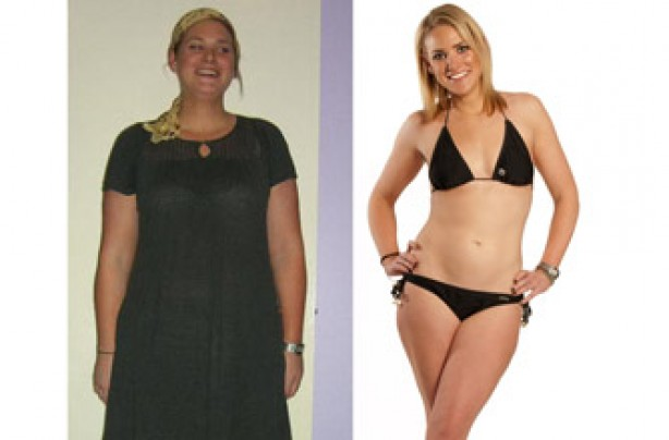 Before and after: Nicola Stanley