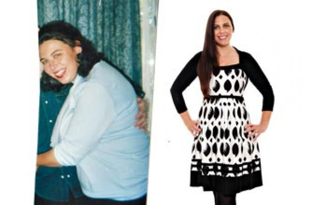 Before and after: Deborah McCourt