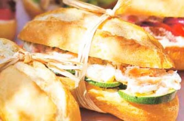 Seafood sub
