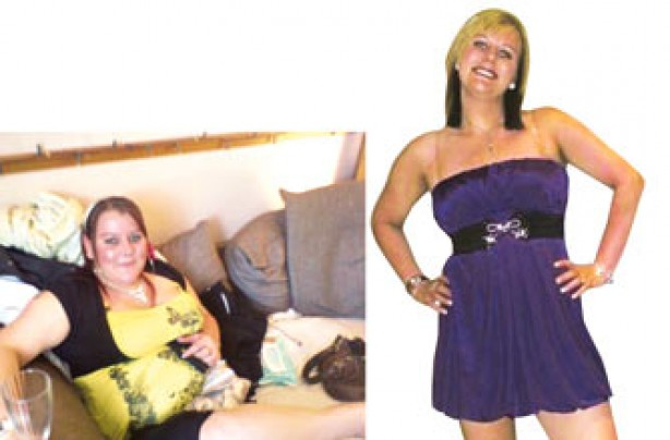 Before and after: Tricia Hale