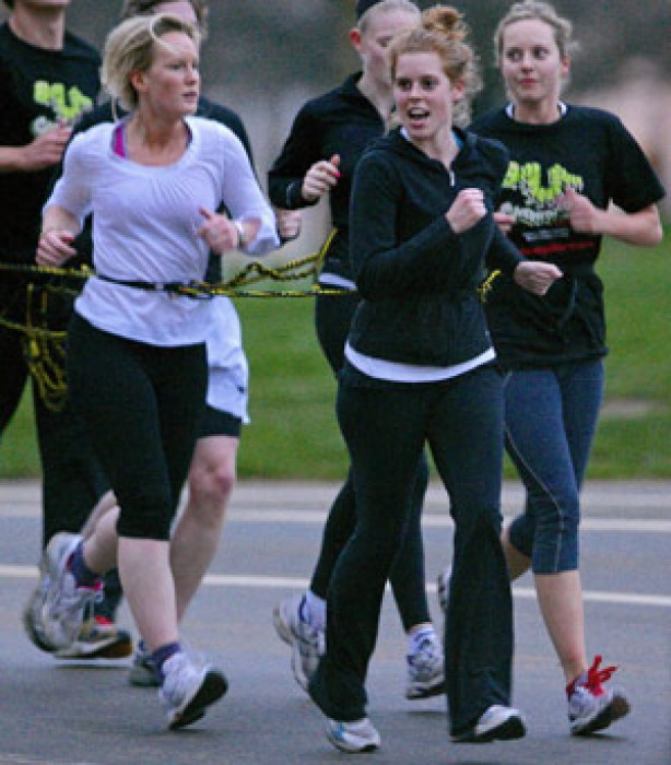 Celebrities keeping fit: Princess Beatrice