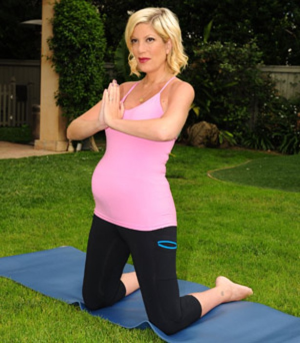 Celebrities keeping fit: Tori Spelling