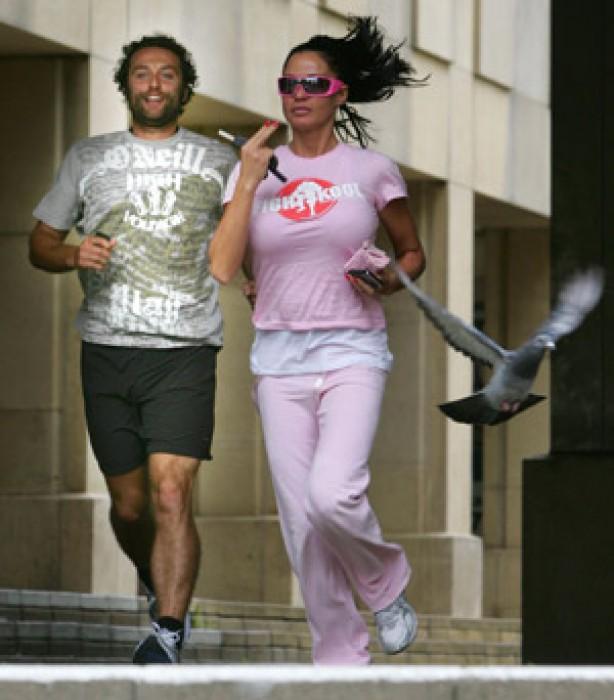 Celebrities keeping fit: Katie Price