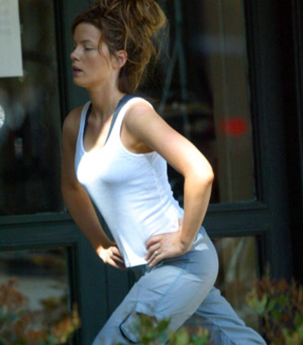 Celebrities keeping fit: Kate Beckinsale