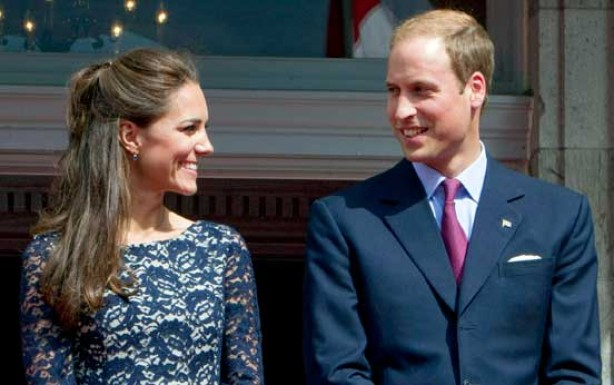 Kate and Wills in Canada