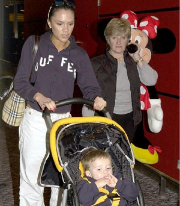The Beckham family album: 2000