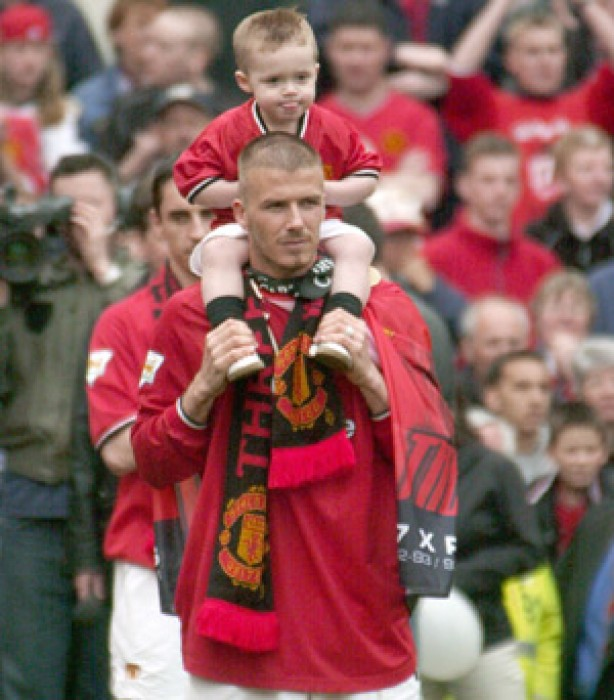 The Beckham family album: 2001